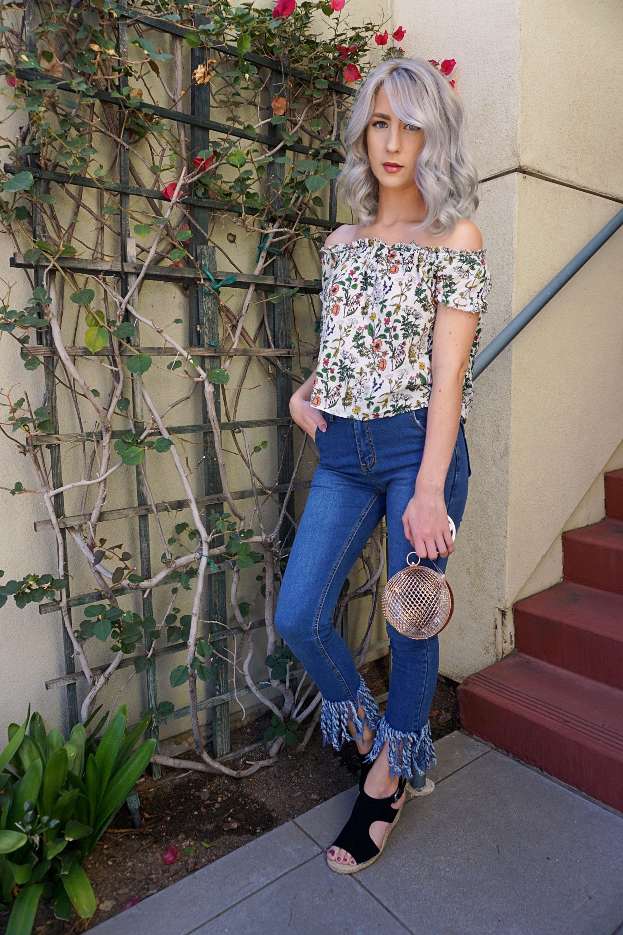 Friday Favorite: Frayed Jeans