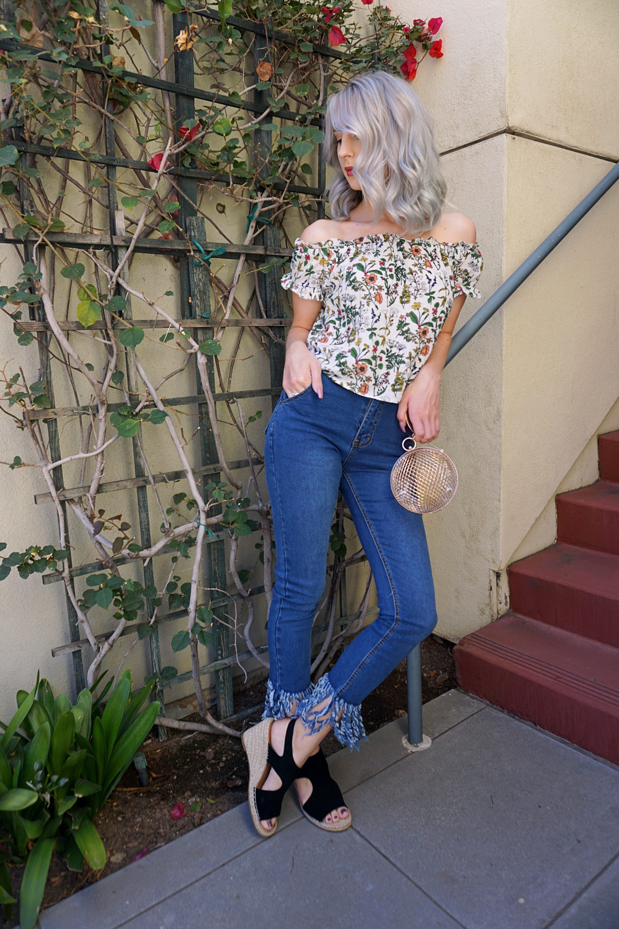 Friday Favorite: Frayed Jeans | Until The Very Trend