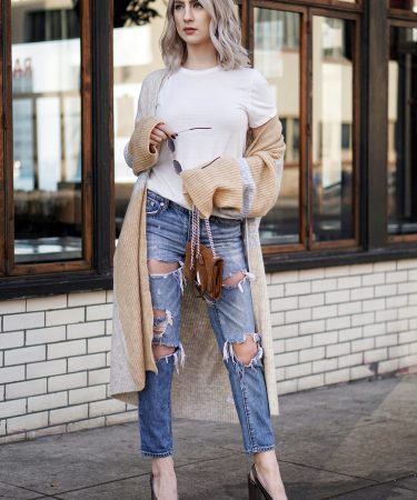 Cozy Sweaters + Ripped Jeans To Start Spring