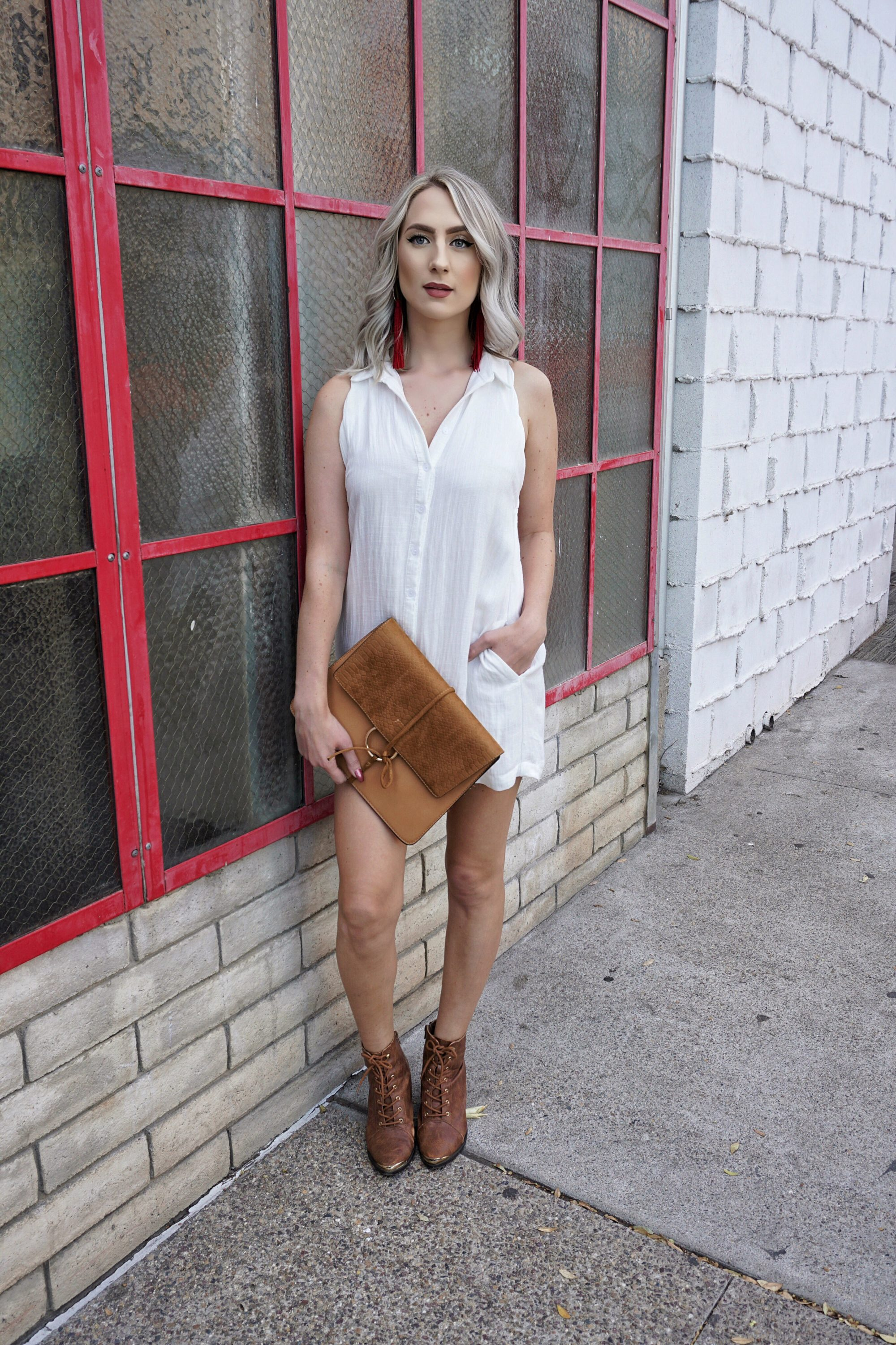 The (Linen) Little White Dress | Until The Very Trend