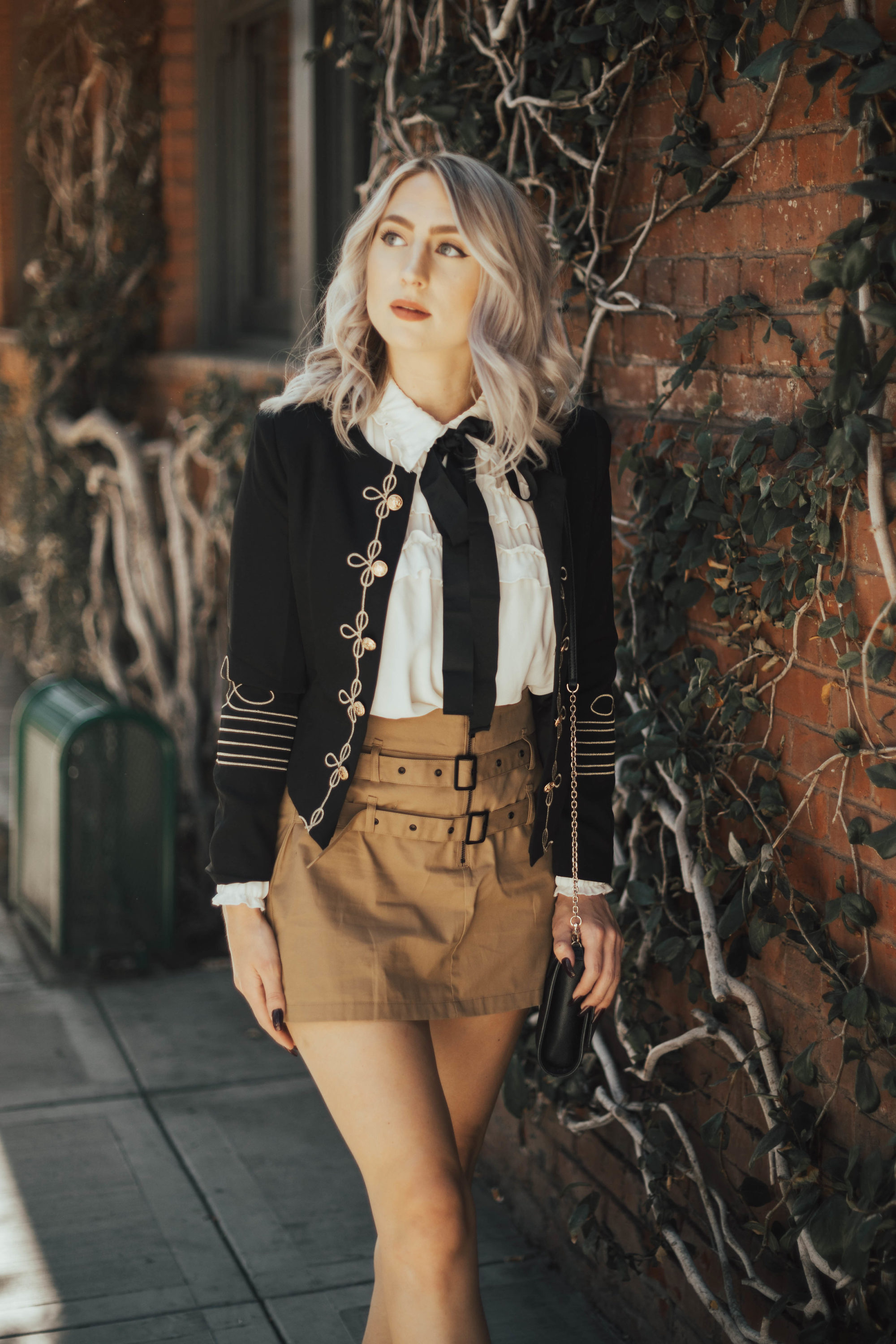 Military Style Blazers | Until The Very Trend