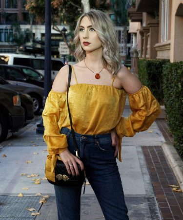 How To Wear Yellow In Fall/ Winter