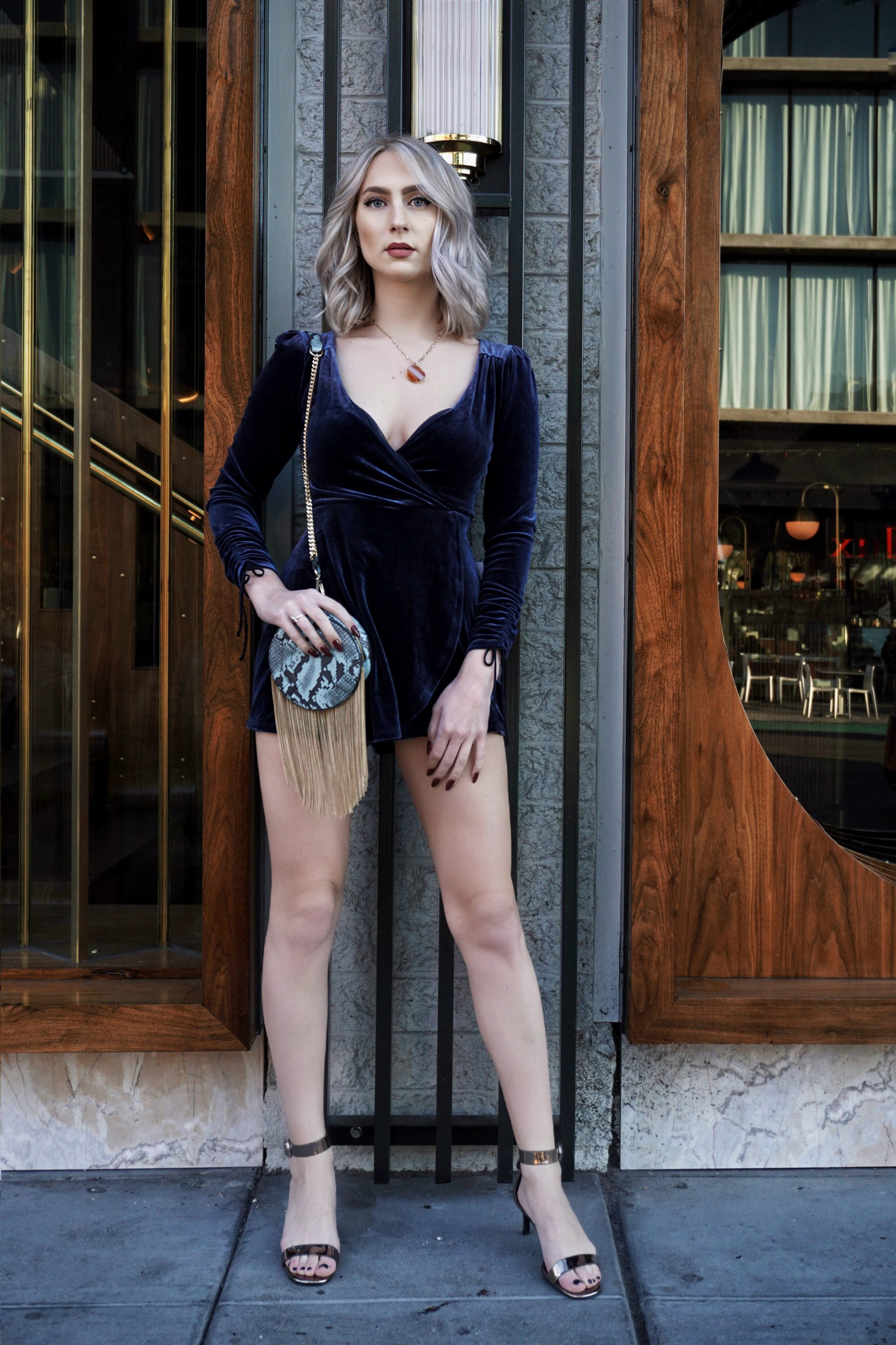 New Year's Outfit Inspiration: Velvet + Fur | Until The Very Trend