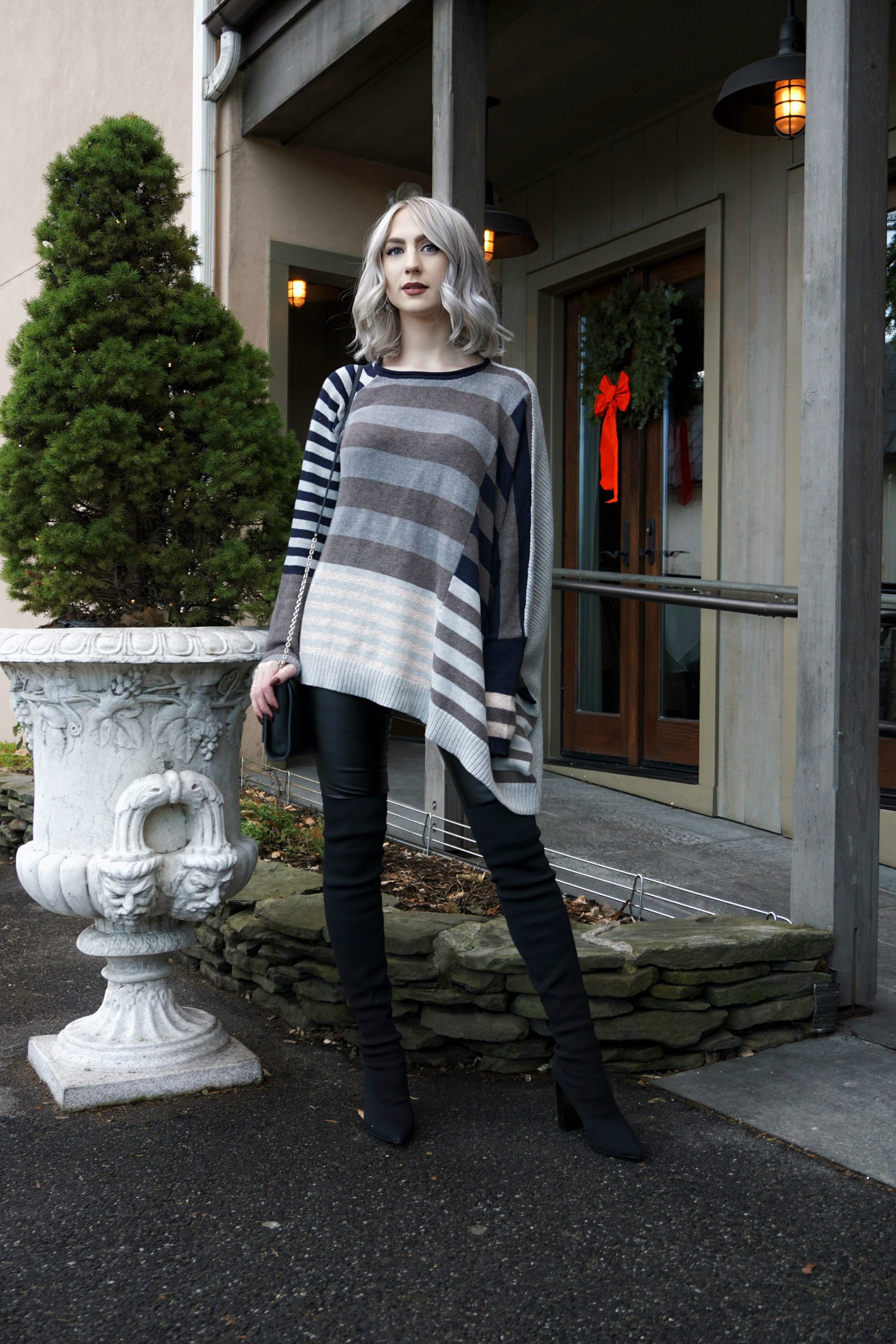 Stripes And Leather | Until The Very Trend