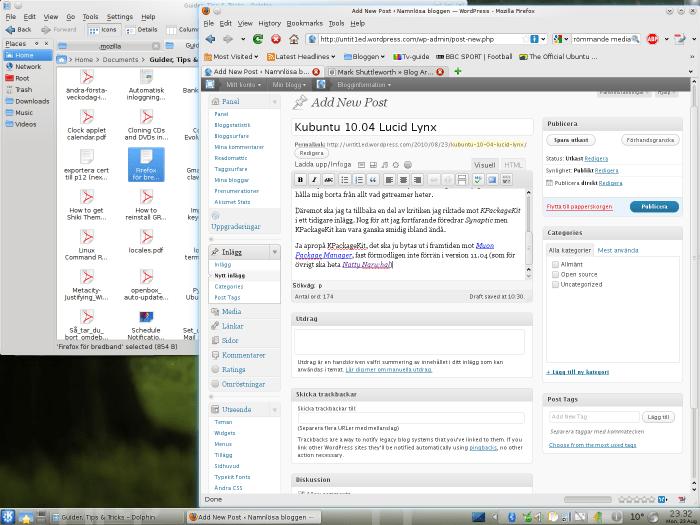 Kubuntu 10.04 Lucid Lynx (1/2)