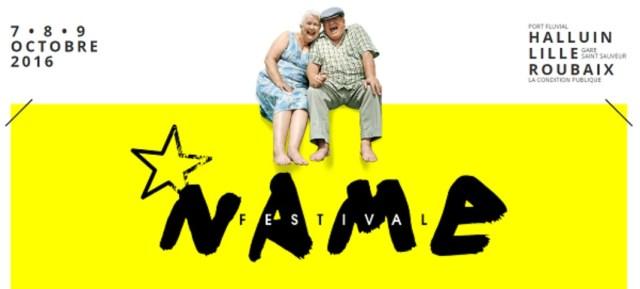 Affiche N.A.M.E Festival 2016