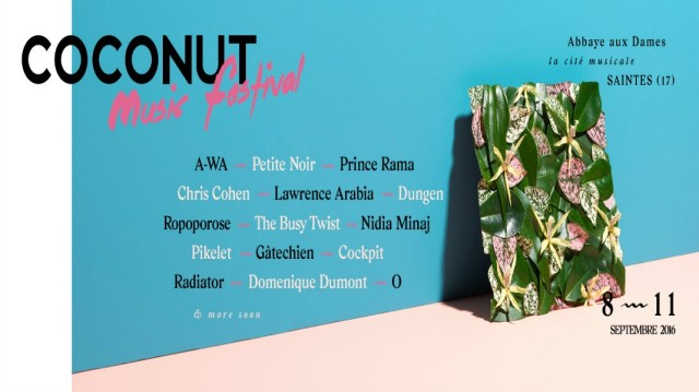 Line-up Coconut Music Festival 2016