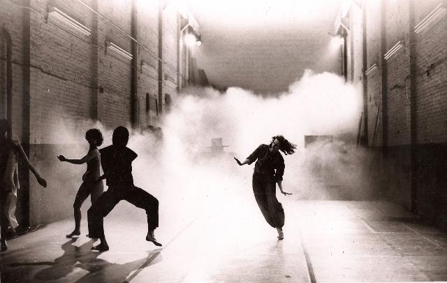 Opal Loop, Cloud Installation, 1980 - crédits : Babette Mangolte