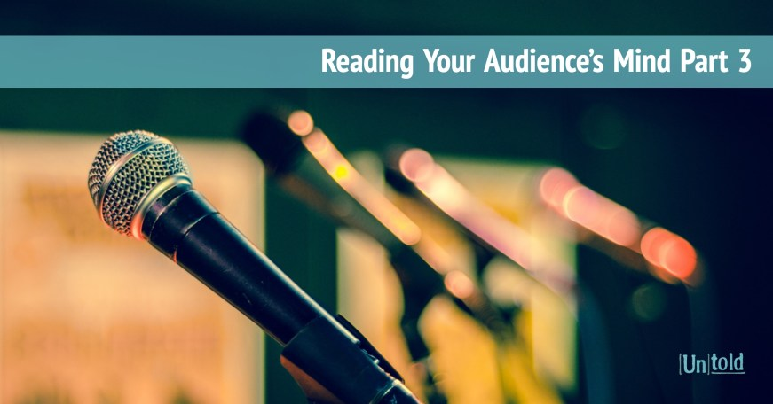 Reading Your Audience's Mind Part 3 Image