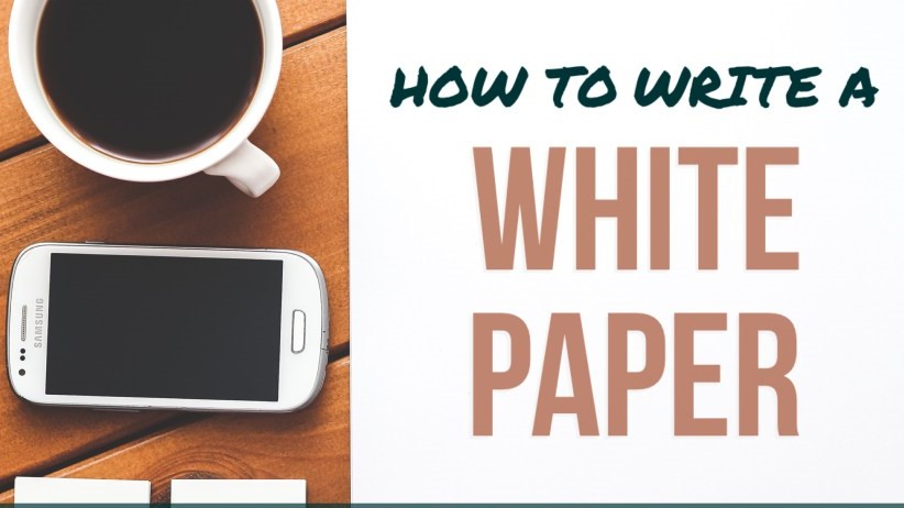 How to Write an Effective White Paper