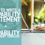 How to Write a Capability Statement + Capability Statement Template
