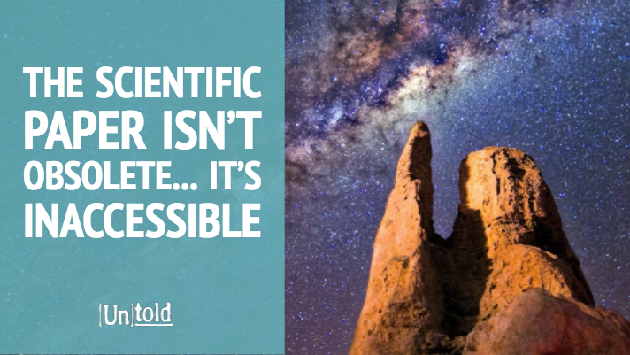 The Scientific Paper Is Not Obsolete