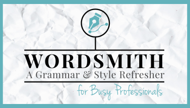 Wordsmith Business Writing Grammar Online Course
