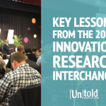2019 Innovation Research Interchange:  Three Key Insights