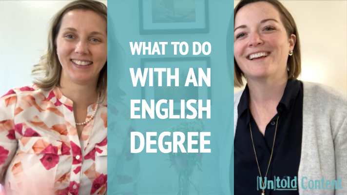 what to do with an english degree