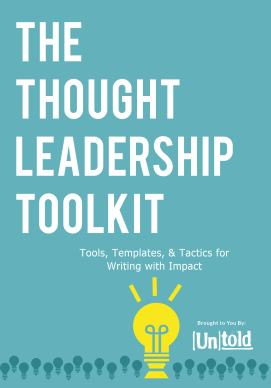 thought leadership toolkit