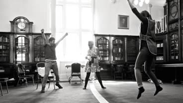Broccolily Theatre Rehearsals