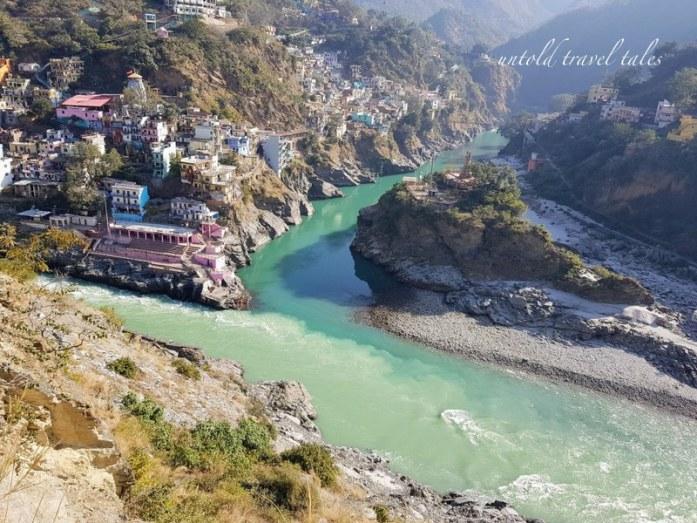 Delhi to Chopta, Rudraprayag Sangam