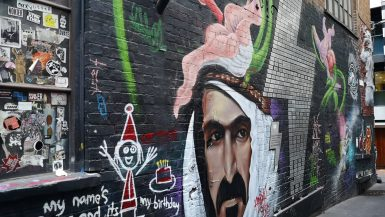 Melbourne graffitti