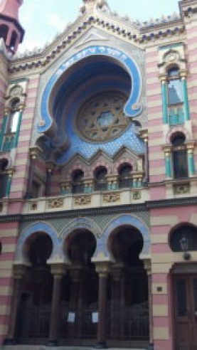 Arab-style architecture on magnificent Jubilee Synagogue