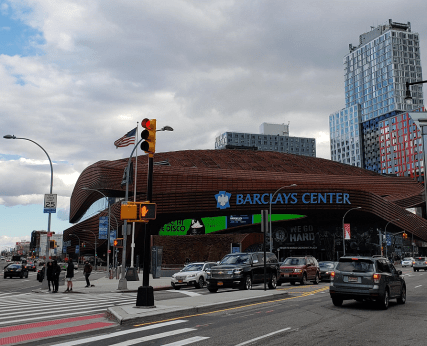 The Brooklyn Dodgers almost played at the Barclay Center