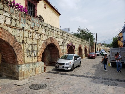 Aqueduct in Oaxaca is beautiful