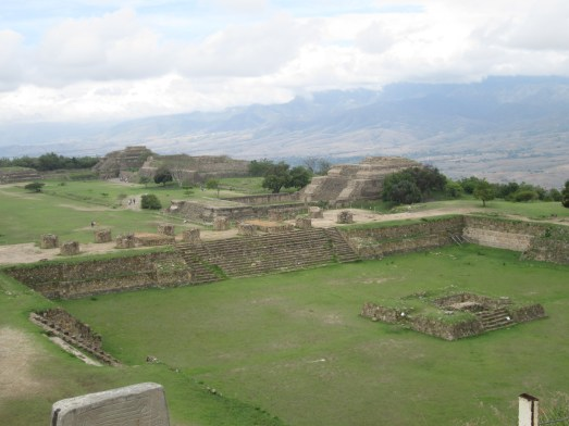 Monte Alban covers a huge area