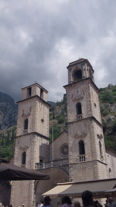Church tower in Kotor was destroyed in earthquake and never fully repaired