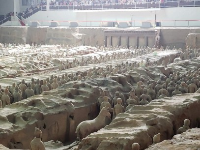 Entire brigade uncovered in Terracotta Warriors site