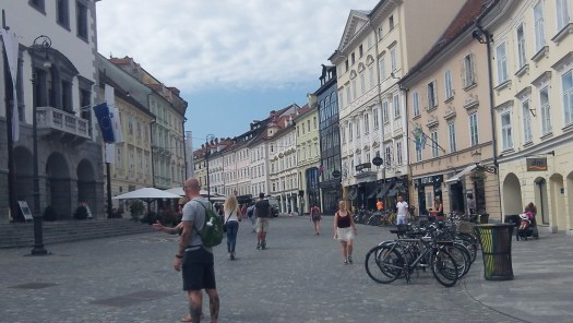 Ljubljana is very tourist friendly