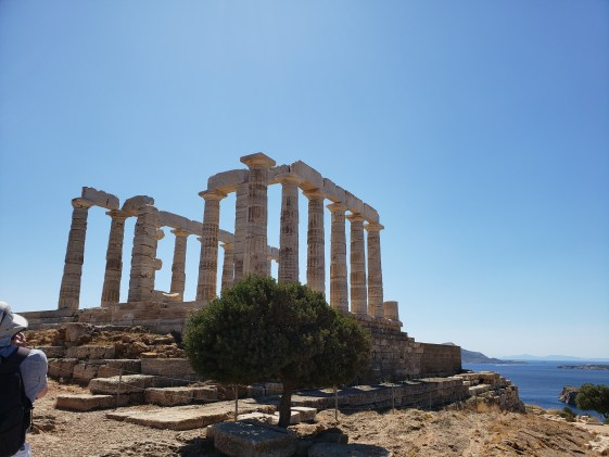 Sounion Temple protected against pirates