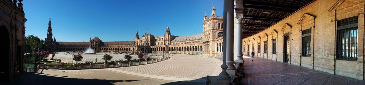 Plaza de Espana di Siviglia