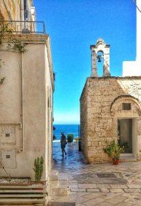 Terrazza sul mare a Polignano