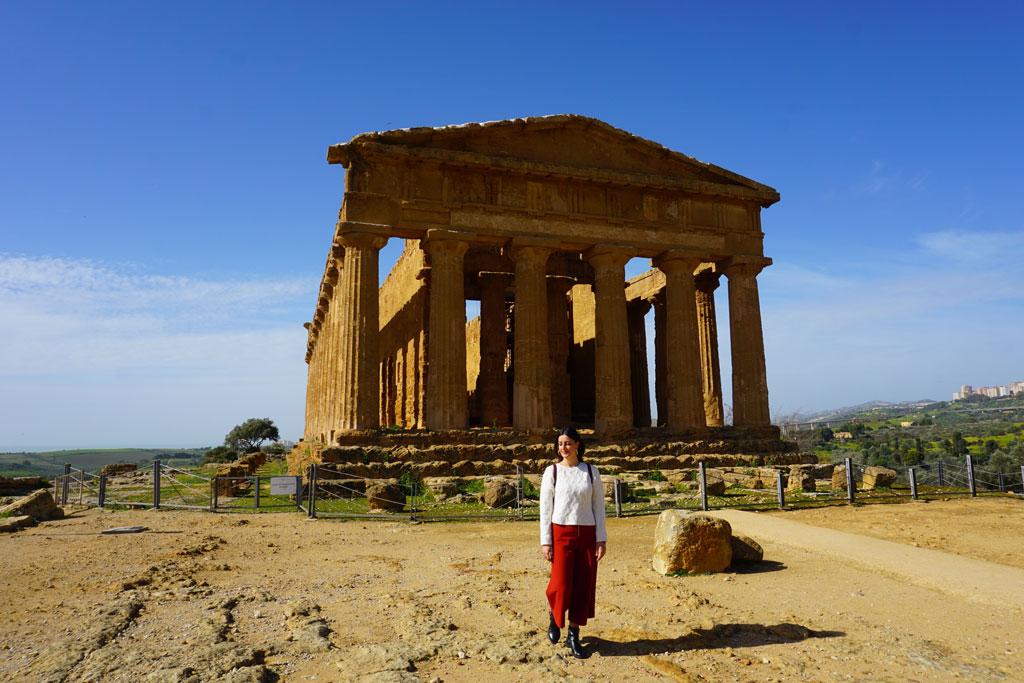 Il Tempio della Concordia di Agrigento