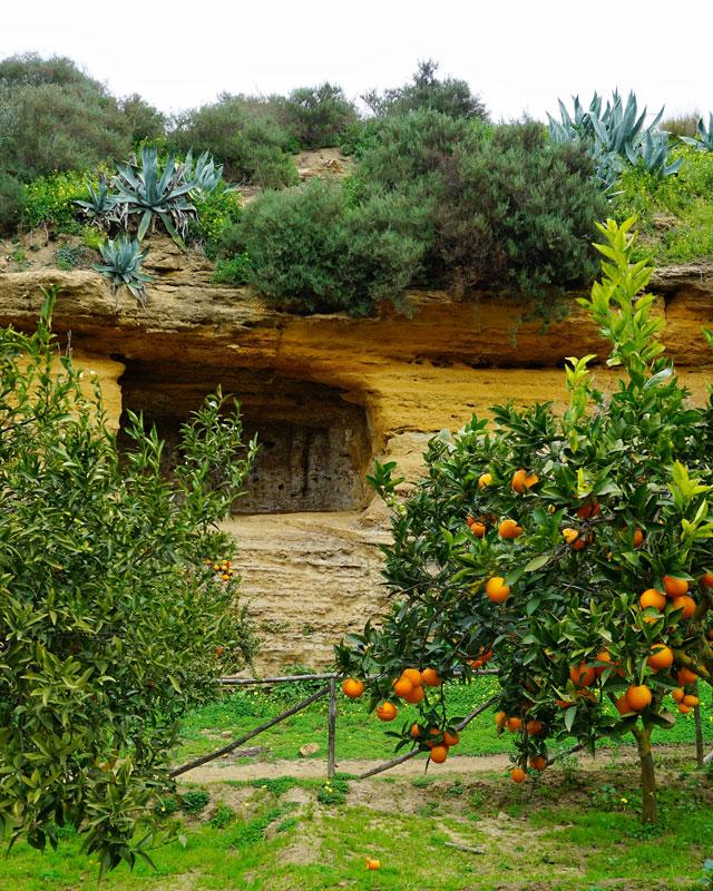 I giardini della Kolymbethra di Agrigento