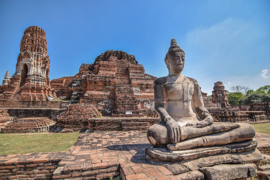 Tempio buddhista in Thailandia