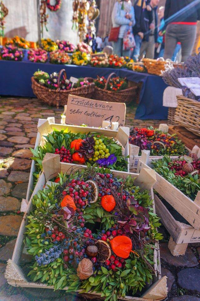 friburgo mercato piazza cattedrale