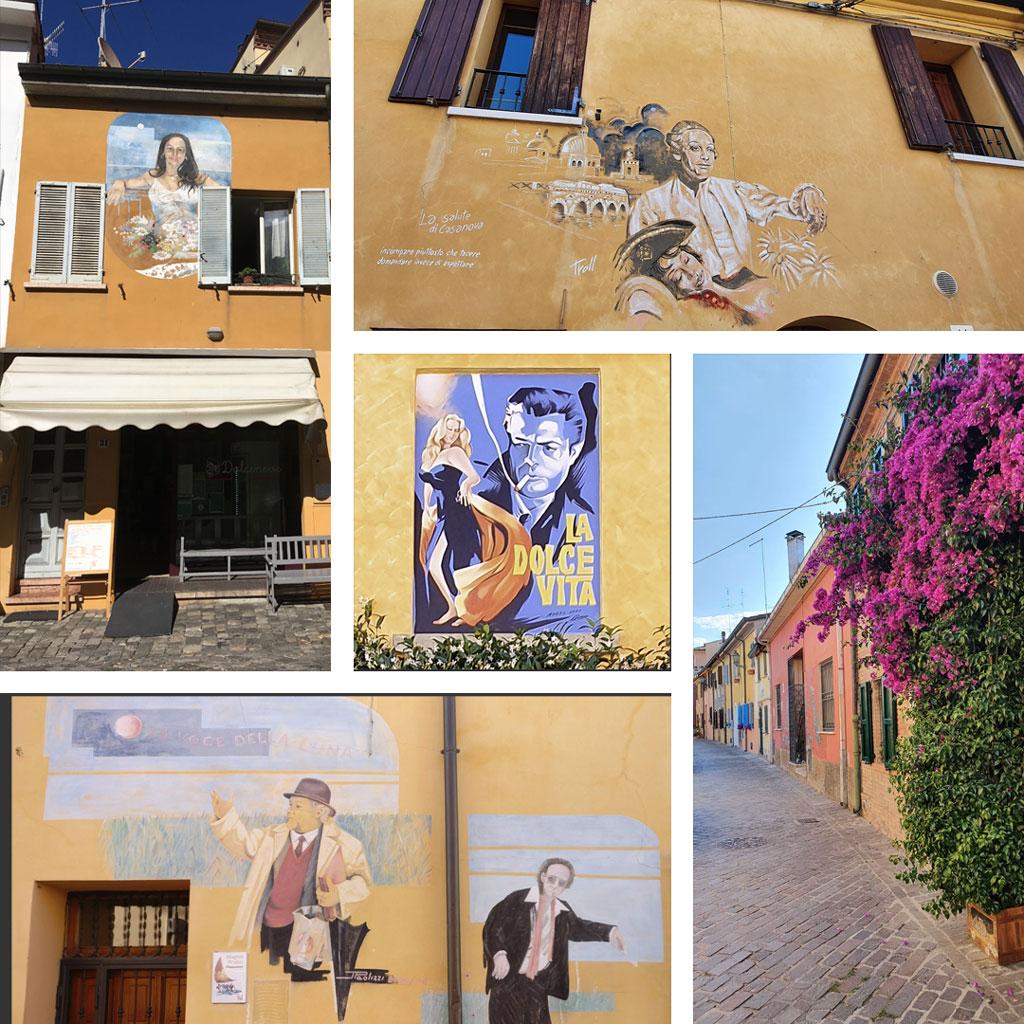 street art fellini rimini
