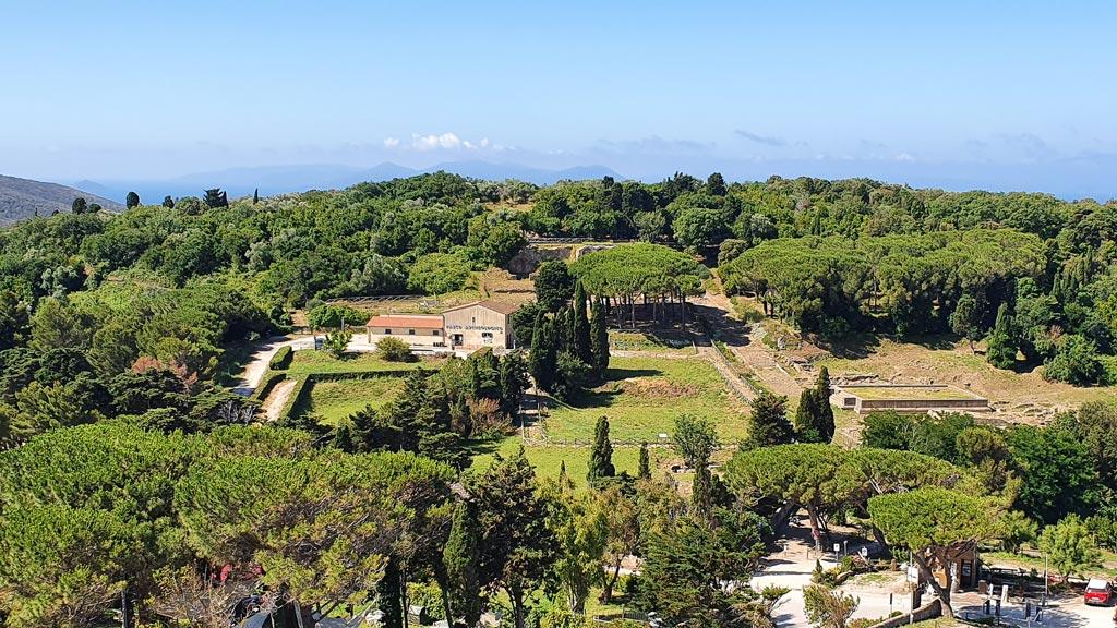 parco archeologico populonia