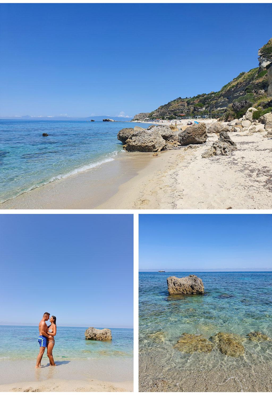 spiaggia della scalea tropea