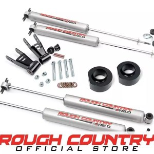 Kit lengkap Rough Country 1.5-inch Suspension Lift Full Kit 680.2