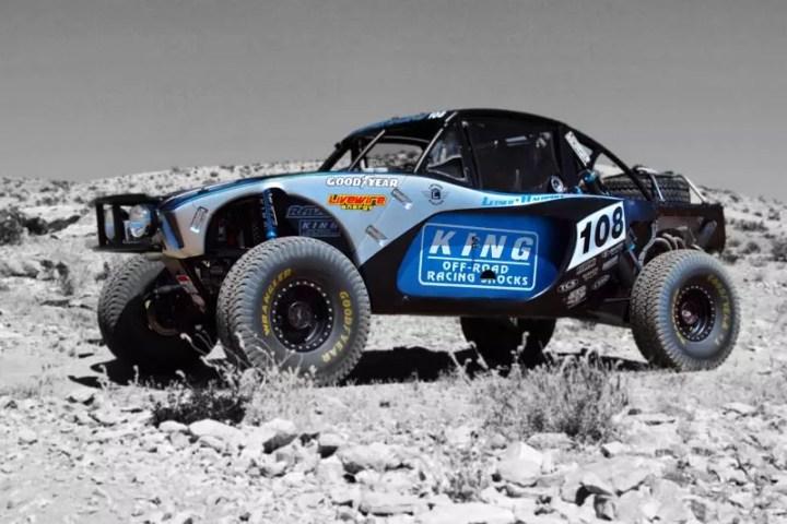 king shocks racing truck