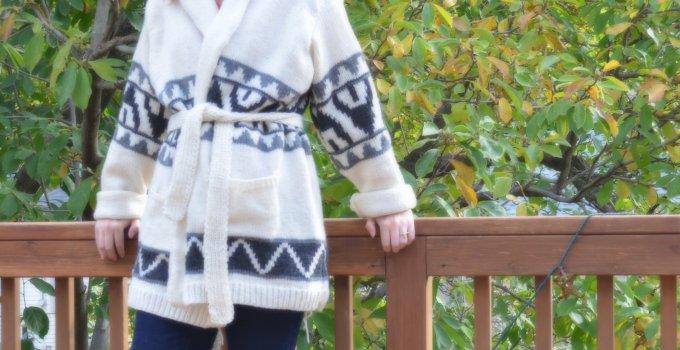 Knitting: A Starsky Sweater