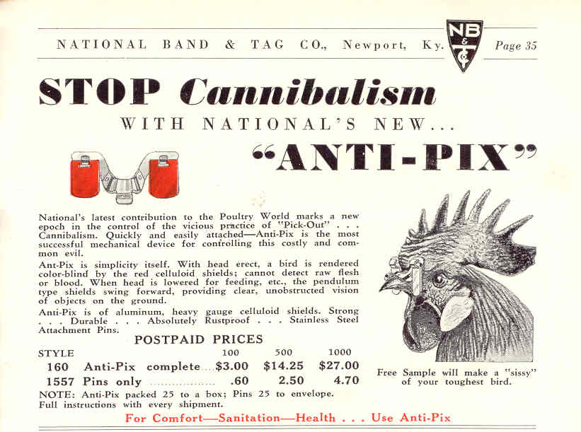 National Band & Tag Company advertisement circa 1940