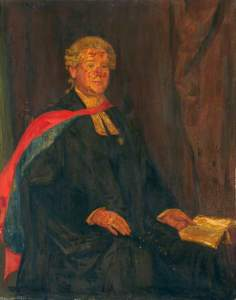 Dr H. Mansfield Robinson, Vestry Clerk of Shoreditch (1891–1899), and Town Clerk of Shoreditch (1900–1911). Image Credit.