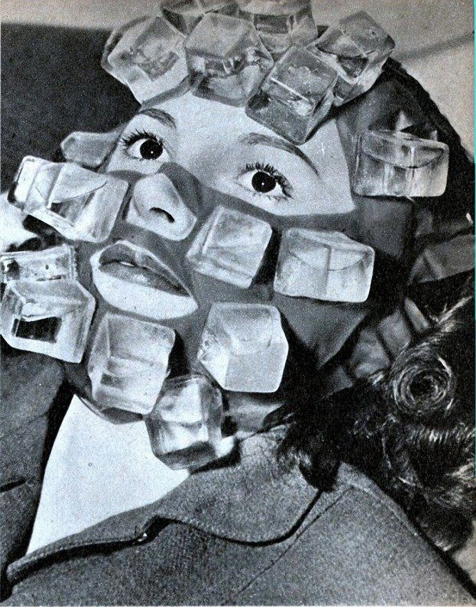 Ice mask by Max Factor.
