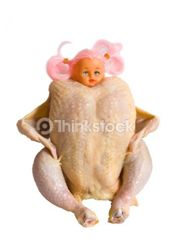 Chicken doll