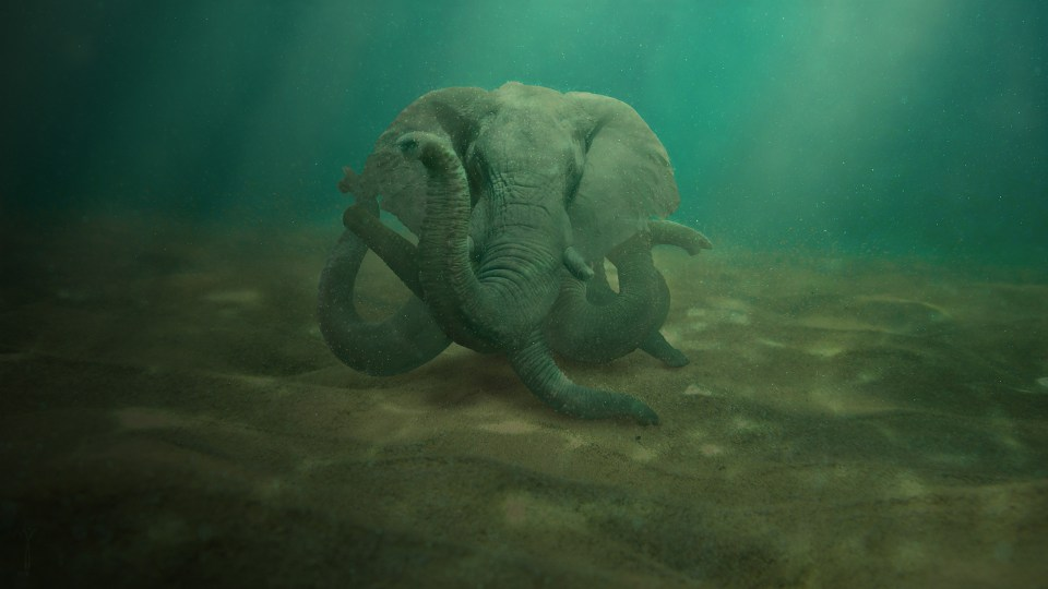 Octophant by fatdonuthole