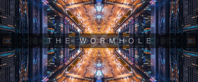 The Wormhole: a kaleidoscopic 4K timelapse
