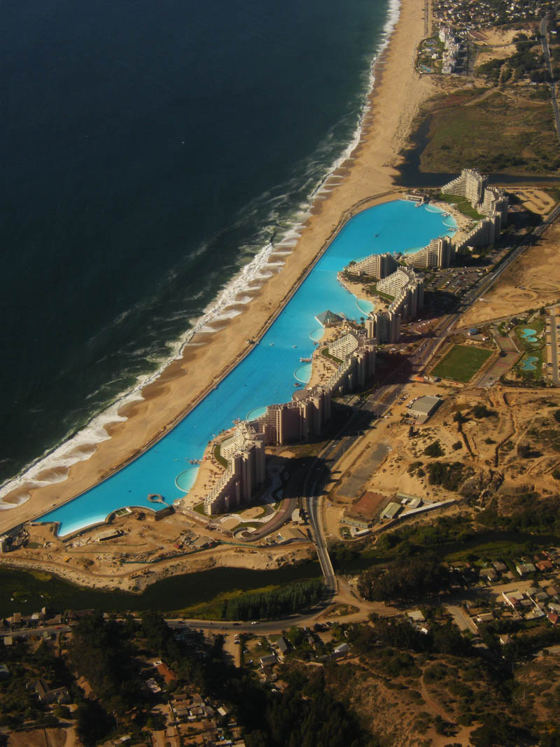World's Largest Swimming Pool San Alfonso del Mar - Unusual Places